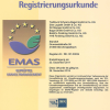 TSB, 2013-12-17, EMAS Zertifikat MG_mittel